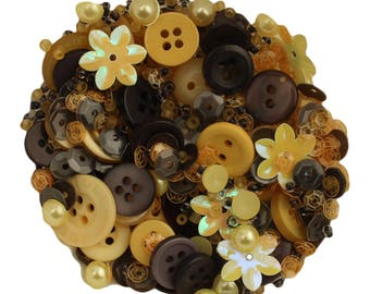 28 Lilac Lane Decorative Embellishments-Buttons, Pearl Accents, Seed Beads and Sequins-Queen Bee Embellishment Bottle