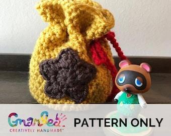 Crochet Bell Bag/Coin Purse (PATTERN ONLY)