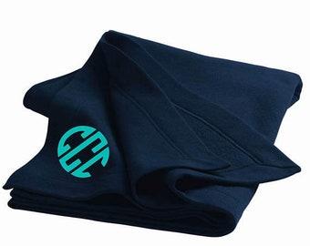 Monogrammed Stadium Blanket + DryBlend, Embroidered Stadium Blanket