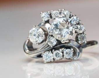 1930s Diamond Victorian Ring