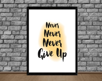 PRINTABLE Art Inspirational Quote Office Art Decor Wall Art Motivational Poster Print Wall Decor Quote Wall Art Prints (4a) Instant Download