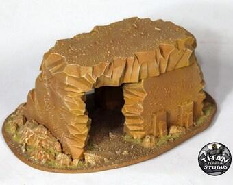 Desert 40k Small Ruin - Variation A