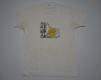 Vintage Jane Fonda T-Shirt 1970s XL Vietnam Hanoi Jane
