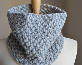 Knitting Pattern, Knit Cowl Pattern, Knit Cowl Scarf Pattern, Cowl Scarf Knit Pattern, Cowl Knitting Pattern, Chunky Cowl Pattern Knit