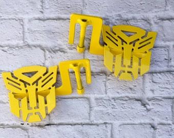 Bumblebee Yellow Transformer Autobot Jeep foot pegs jk/cj/tj/YJ