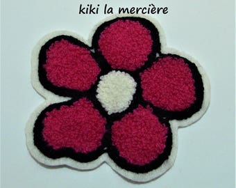 patch, applique, patch Terry Daisy flower has sewing