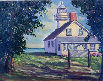 Old Mission Lighthouse - Unparalleled Beauty