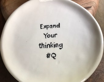 Snack plate Expand your thinking #Q