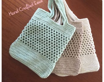 Crochet Large Market Tote