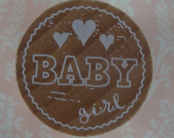 Royal Posthumus Woodies Baby Girl Stamp
