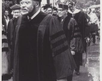 "1982 Vintage Original Photograph James Earl Jones, Benny Goodman - New Haven, Conn - ""New Haven Campus"""