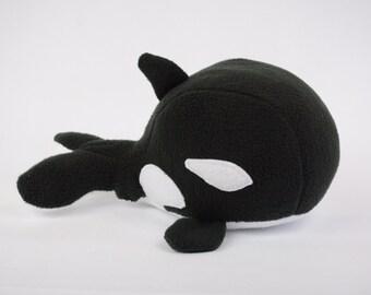 Orca, Stuffed Animal Orca, Plush Orca, Orca Plushie, Orca Stuffed Toy, Orca Plush Animal, Orca Stuffed Plushie