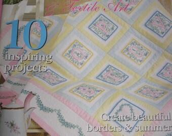 Machine Embroidery & Textile Art Magazine,Vol. No.12