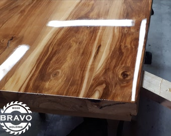 Fruit-trees table tops. Apple, Pear, Cherry. Fully epoxy