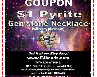 Gemstone Pyrite Promo