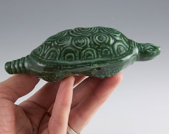 Green Turtle Ceremonial Pipe