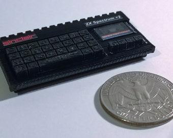 Mini Sinclair ZX Spectrum +2 - 3D Printed!