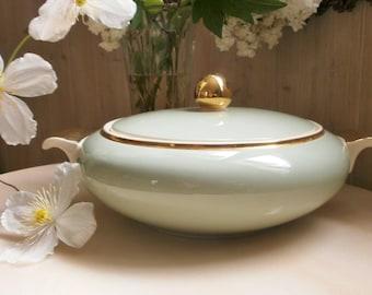 Antique Art Deco VILLEROY & BOCH Tureen / / large tureen Art Deco model BIARRITZ / / a Soup / / french Art Deco / / Mettlach / / Made in France-Saar