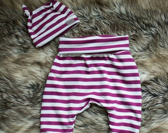 evolutive pants-baby toddler - new born - Beanie - mittens - Hat