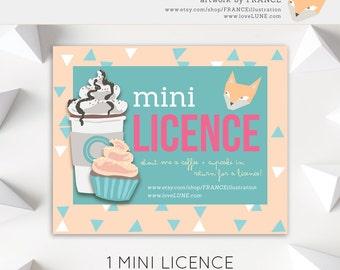 1 MINI COMMERCIAL LICENCE for Mini Runs (Under 50 units).