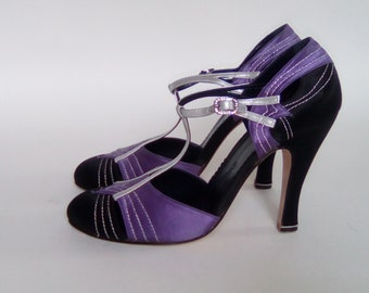 Shoes from luxury Italian ZORAIDA brand silk size 37