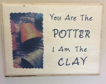 Potter and Clay Wall Hanging