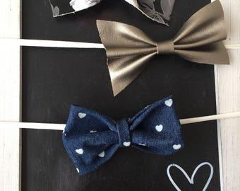 Baby bows, nylon headband or alligator clip