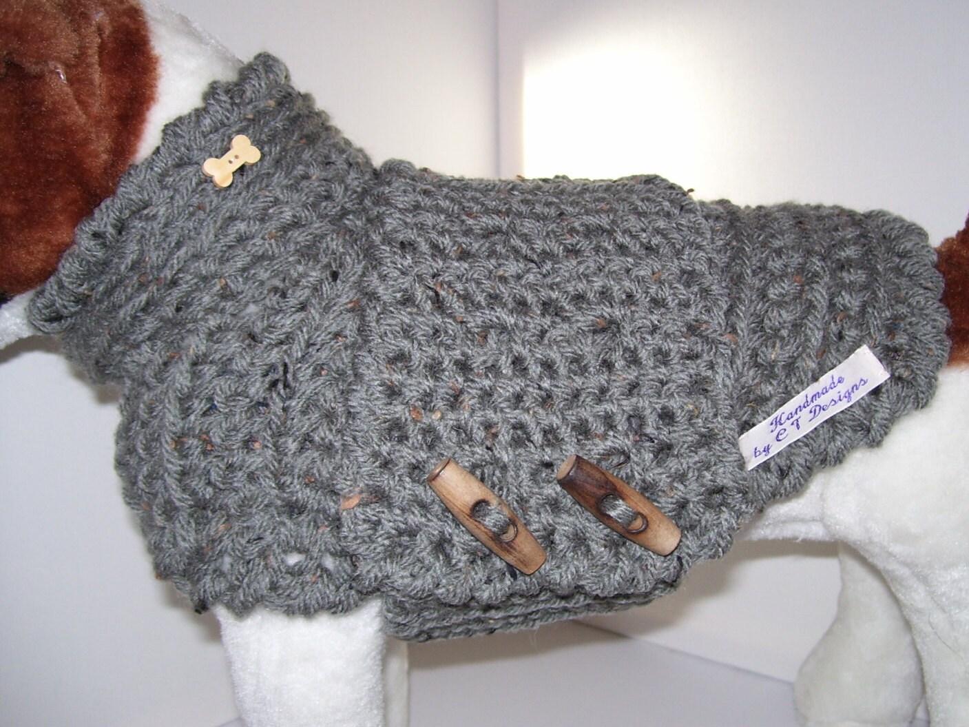 Häkeln Hund Pullover Hundebekleidung häkeln Hund Jumper
