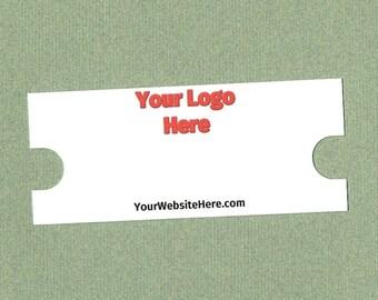 Choker Cards, Jewelry Cards, Set of 30, Jewelry Supply, Cards, Jewelry Tag, Printed Choker Card