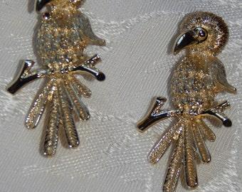 2 Vintage Judy Lee Brooch/Pin Vintage Bird Brooch/Pin By Judy Lee Set of 2