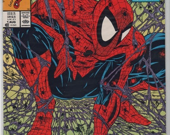 20+  Year Old, Marvel Pub., 7 issues of Spider-Man,  # 1, to # 5 of   1990's Mint Condition,  1913a