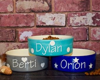 cat food bowl, dog bowl personalised, dog bowl ceramic, dog food bowl, dog bowl, cat bowl ceramic, cat bowl with name, cat bowl personalised