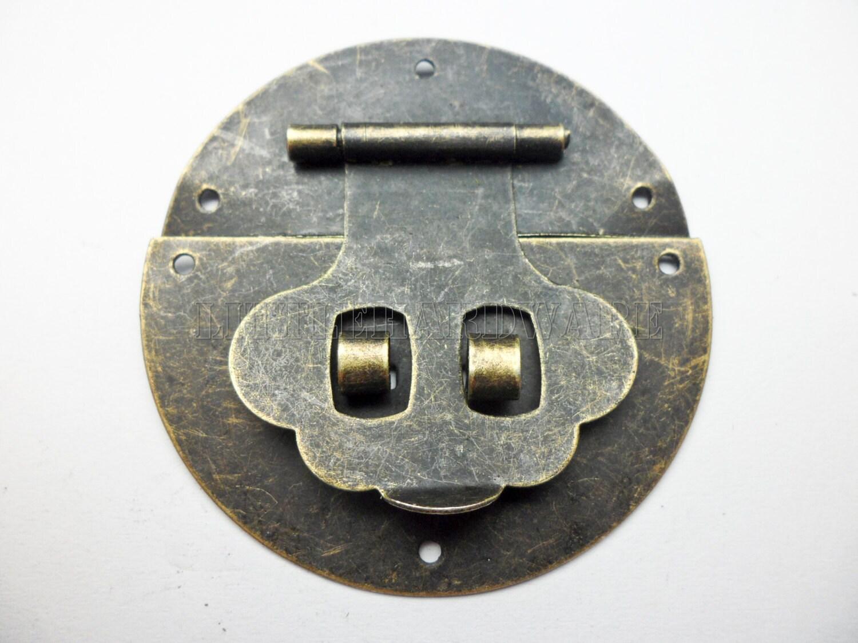 10pcs Diameter 50mm Lock Latch Small Box Hardware Chest
