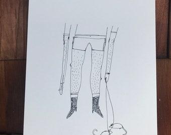 The Rat Man - Original Drawing