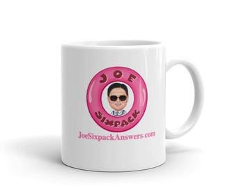 Joe Sixpack Coffee Mug Red