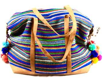 Peruvian wool travel bag