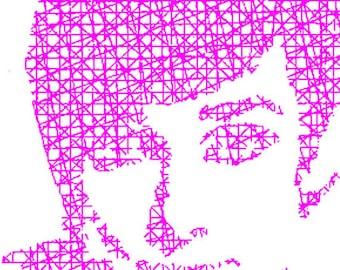 """Portraits, Custom Portraits, Custom Portrait Art, Portrait Art ,Custom Colors, 8""""x10""""x1-1/4"""" or 9""""x9""""x1-1/4"""""""