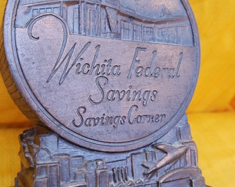 Banthrico Wichita Federal Savings Coin Bank