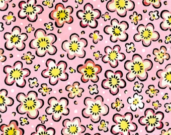 Four Seasons Spring Pink Floral from In The Beginning Fabrics by the yard