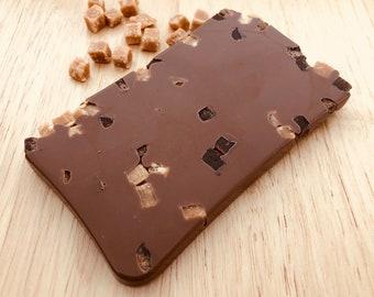 Milk Chocolate Fudge Bar, Belgian Chocolate, Handmade Chocolate