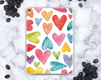 Hearts iPad Pro 12.9 Case iPad Mini 4 Cover iPad Pro Case iPad Air 2 Case iPad Pro 9.7 2018 Case iPad 5 iPad Mini Cover iPad 3 Case cn9009