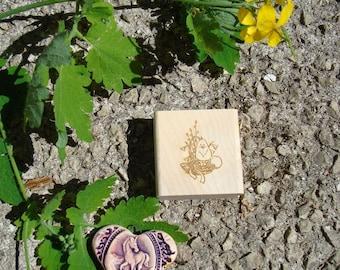 Custom rubber stamp Easter TC232