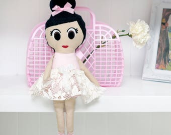 Sienna Ballerina Doll PDF Sewing Pattern