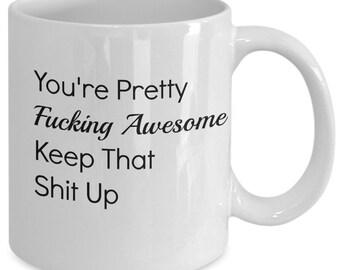 Cursing Coffee Mug