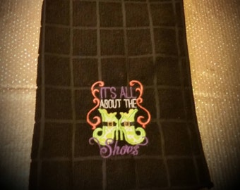 Halloween Embroidered Towel; Kitchen Towels; Hand Towels; Embroidered Towels; Cooking Towels; Personalized Towels