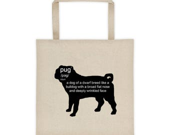 Pug Defined Tote bag