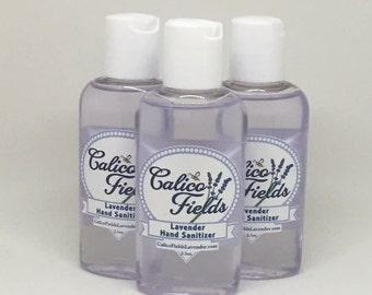 Lavender hand sanitizer - Essential OIl Hand Santizer - Hand Sanitizer