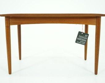D348 Teak Side Table Danish Mid Century Modern