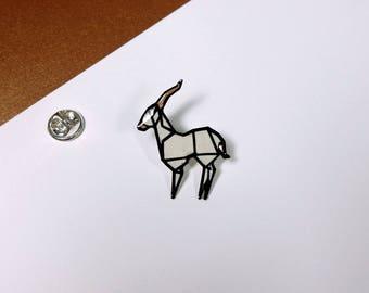 Pin Gazelle - copper edition