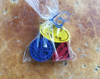 Superhero Crayon Favors 10-25 bags- Superhero party- Superhero birthday